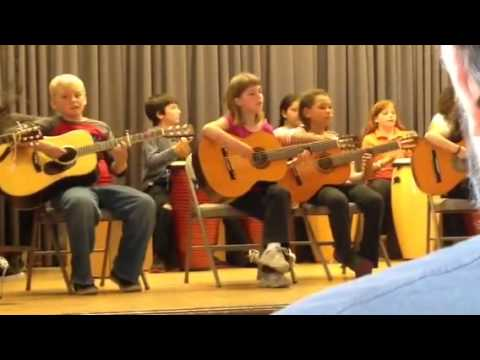 Musical discovery camp - bob Marley's Three little birds