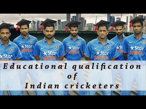 Thumbnail: Educational Qualifications Of Famous Indian Cricketers !