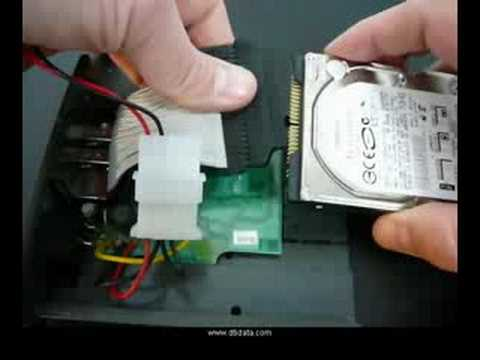 Hard Drive Recovery Tutorial - How To Slave Laptop Disk