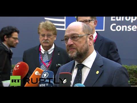European Council discuss refugee crisis and UK