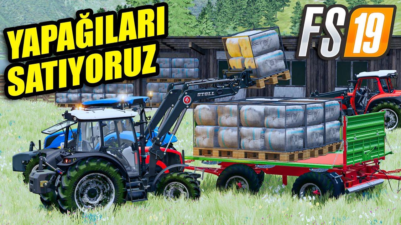 FARMING SIMULATOR 19 // ŞEKER KAMIŞI TOPLUYORUZ !! #10