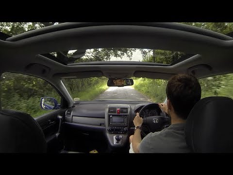 Honda CR-V Panoramic Sunroof - Littlewick Green - YouTube