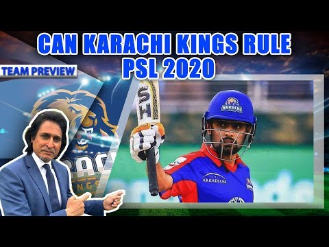 Ramiz Raja: Can Karachi Kings Rule PSL 2020 | Team Preview | Ramiz Speaks