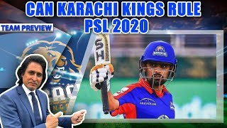 Can Karachi Kings Rule PSL 2020 | Team Preview | Ramiz Speaks
