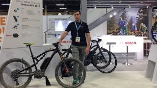 2017 Bosch Electric Bike Updates from Interbike (New Display, Larger Battery, Smaller Charger)