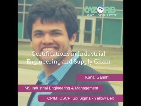 Certifications in Industrial Engineering and Supply Chain Management