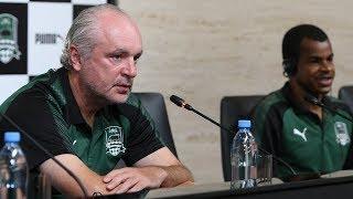 Пресс-конференция и тренировка «Краснодара» перед домашней игрой с «Люнгбю»