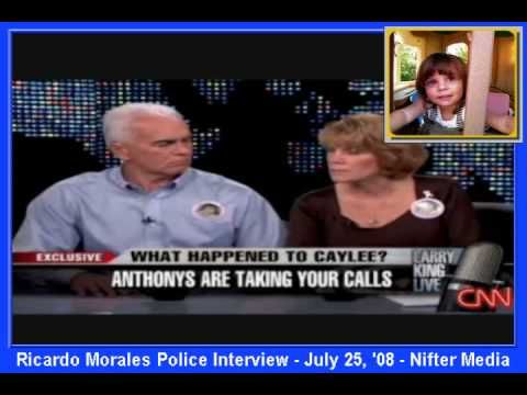 P2 of 3 - Ricardo Morales Police Interview 7/25/08 - Casey Anthony Homicide Case (Caylee Marie)