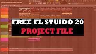 Free FLP Project File | Making Beat with only Fl Plugins