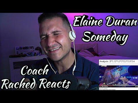 Coach Reaction - Elaine Duran - Someday
