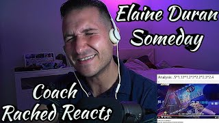 Coach Reaction - Elaine Duran - Someday