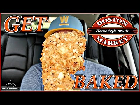 BOSTON MARKET® OVEN-CRISP CHICKEN STRIPS REVIEW