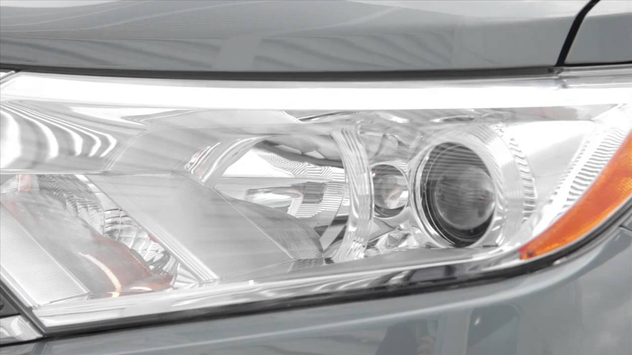 2016 nissan quest headlights and exterior lights
