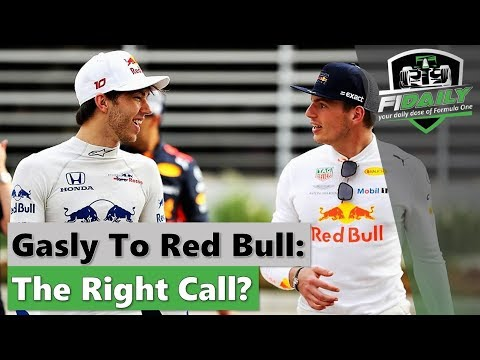 F1 Daily: Is Gasly A Good Choice?