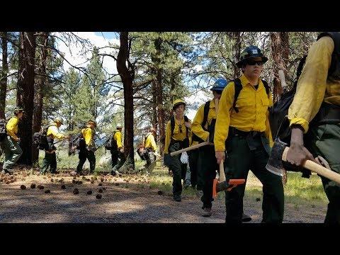 Guard School 2018: Wildland Firefighter Initial Training