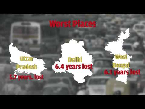 Indians die early because of air pollution