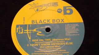 Ride on time (massive mix) - Black box