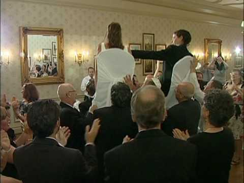 Chair Lifting & Hora Dance   Jewish Wedding Reception at Old Mill Inn Toronto   Forever Video