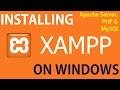 How to: Install XAMPP on Windows 10
