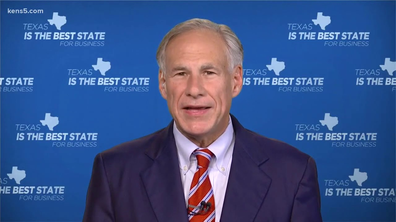 Gov. Greg Abbott addresses Texas through virtual town hall