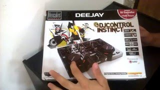 Nueva Hercules DJ Control Instinct (Review) Español