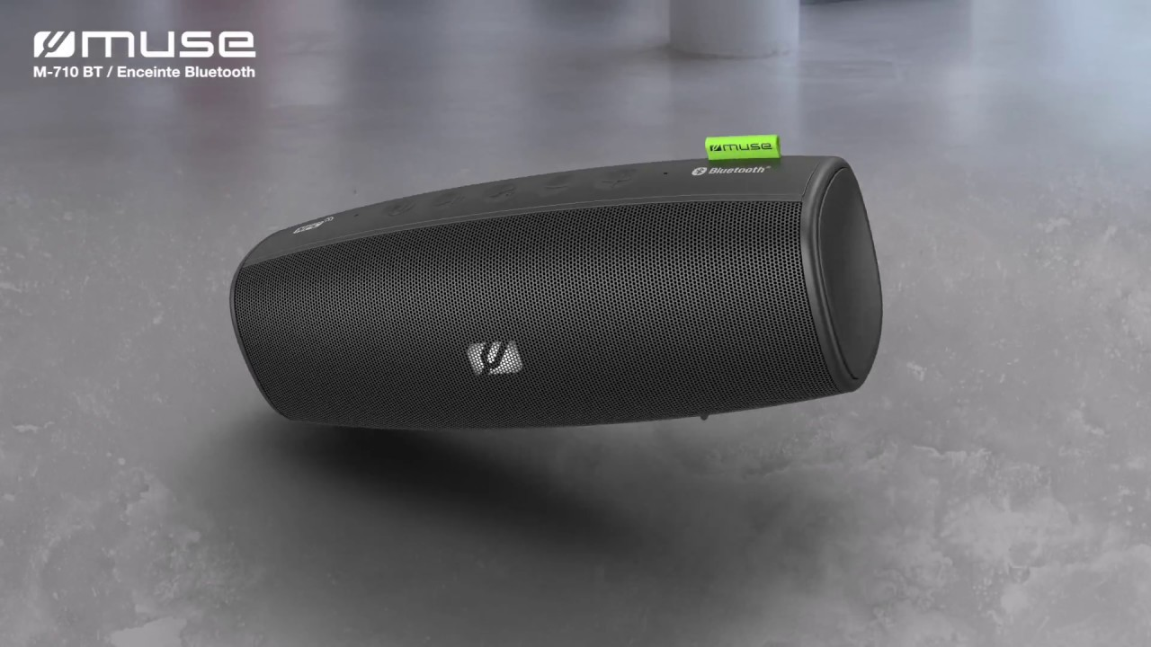 Enceinte Nomade Bluetooth Muse Enceinte Nomade M 710 Btw But