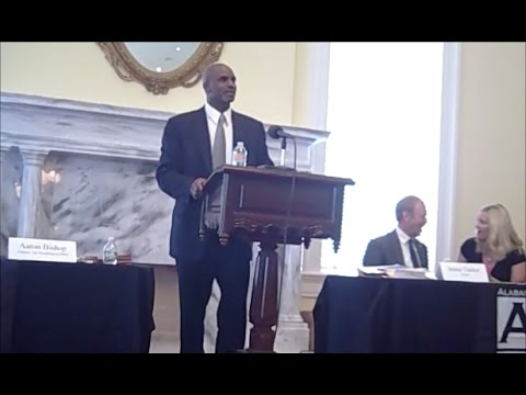 AoD Commissioner Aaron Bishop on Civil Rights and DD Act Programs in Montgomery, AL
