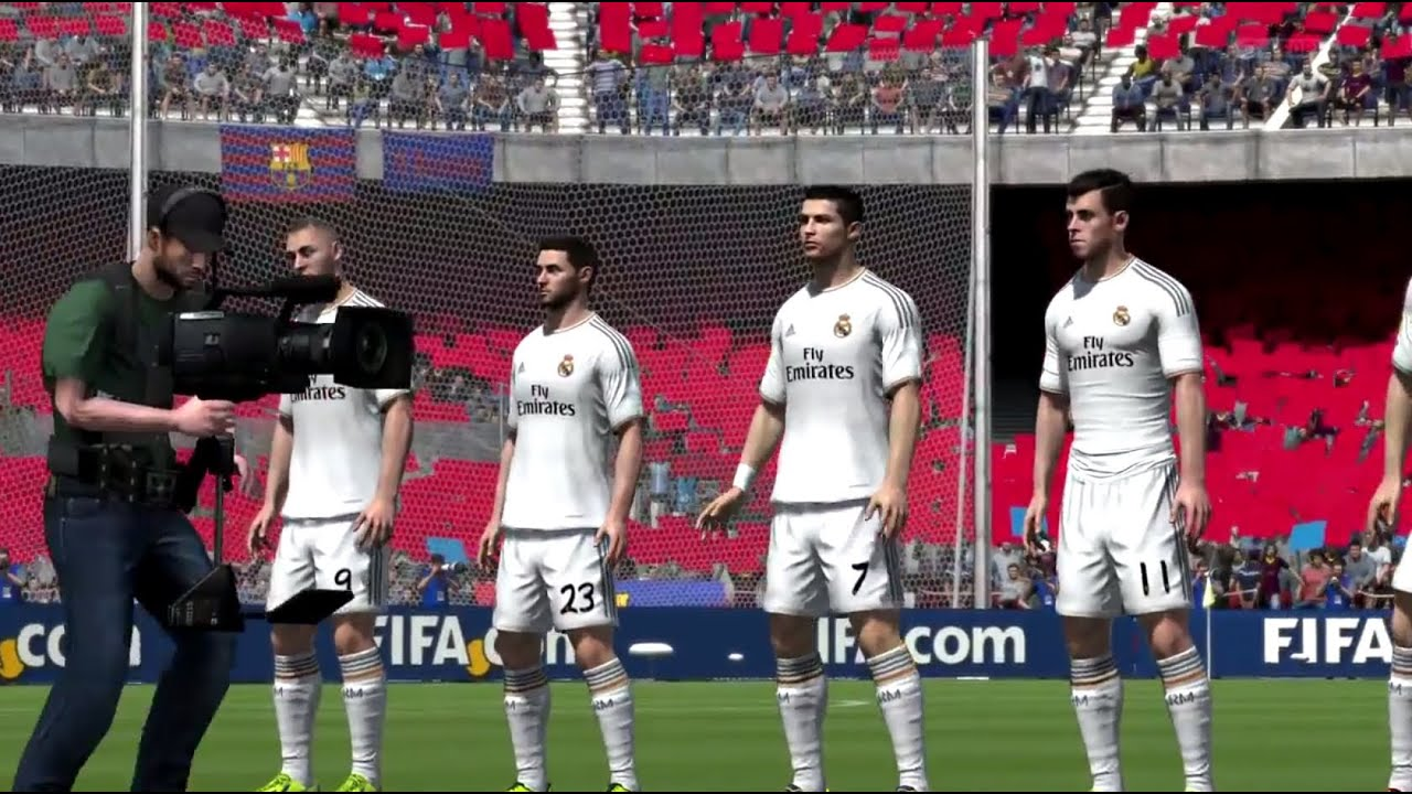 fifa 14 next gen el classico fc barcelona real madrid full gameplay hd xbox one ps4 youtube