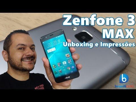 Zenfone 3 MAX - Bateria Monstro, Sensor de Digital por menos de 1000 reais! Unboxing e Impressões