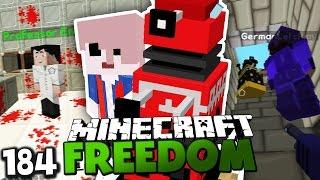 RIP HERR BERGMANN?! & UNSER DORF WIRD ANGEGRIFFEN! ✪ Minecraft FREEDOM #184   Paluten