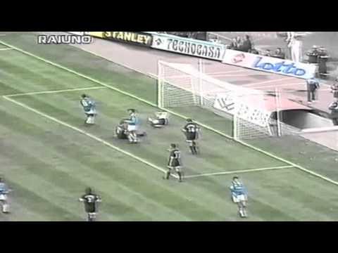 Serie A 1996-1997, day 09 Napoli - Perugia 4-2 (2 Aglietti, Kreek, Beto, Allegri, A.Cruz)
