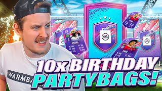 WHAT ARE THESE?! 10X FUT BIRTHDAY PARTY BAG PACKS! FIFA 21 Ultimate Team