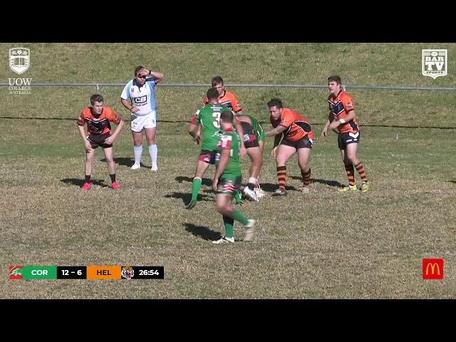 2019 IDRL Reserve Grade Round 11 Highlights - Corrimal Cougars vs Helensburgh Tigers