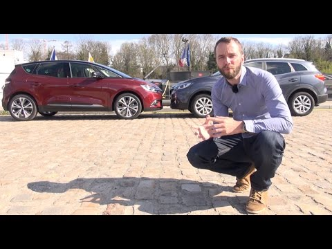 2016 Renault Scénic 4 vs. Renault Kadjar : le duel monospace – crossover [COMPARATIF VIDEO]