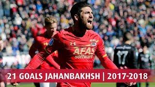 21 eredivisie-goals jahanbakhsh | 2017-2018