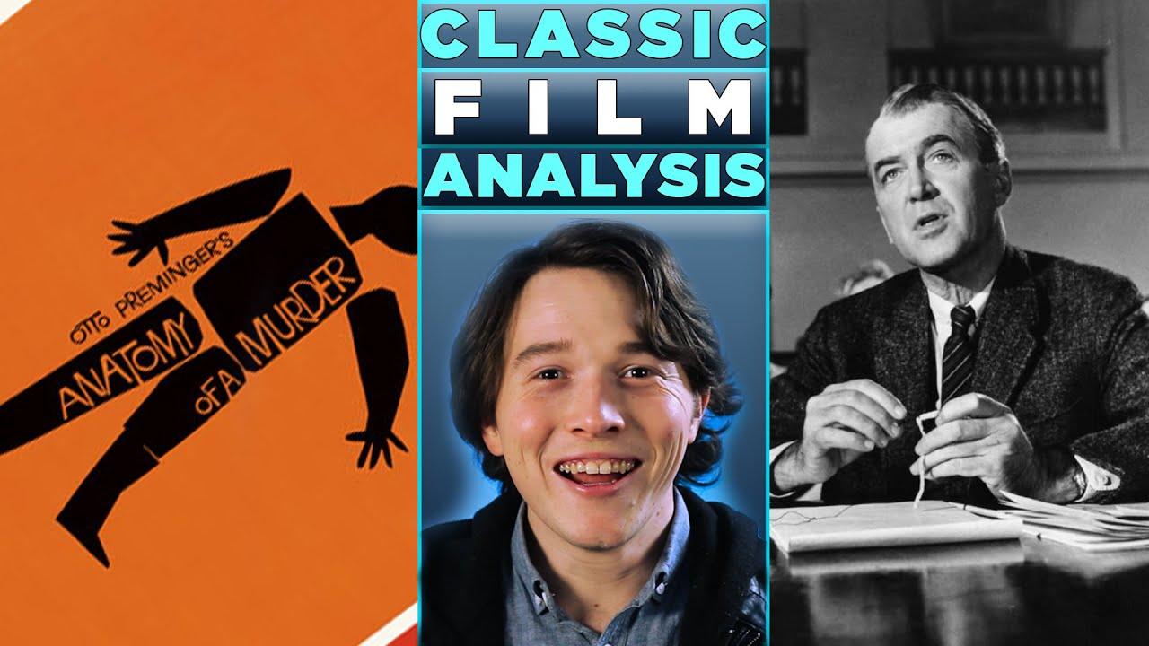 Download A Classic Cinema Analysis: Anatomy of a Murder (1959). MUST SEE Masterpiece! Stars James Stewart.
