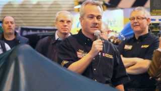 Classic Team Lotus unveil the Lotus Type 72/5 at Autosport 2014