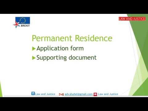 EU Permanent Residence