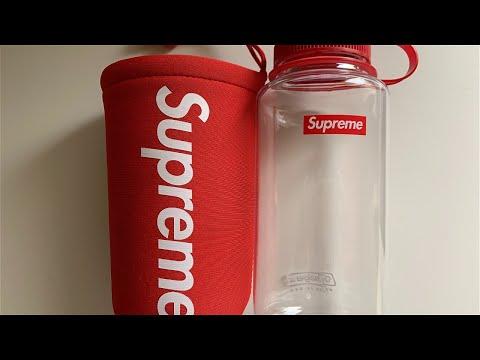 Supreme Red Nalgene Water Bottle