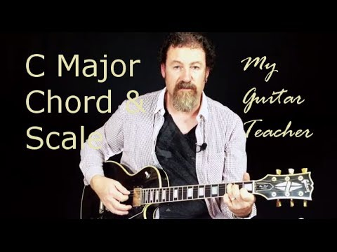 Guitar C Major Scale and Chord - Lesson 3