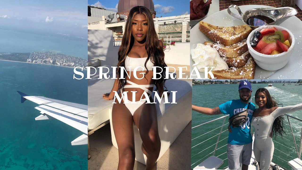 SPRING BREAK MIAMI VLOG 2019 !!!