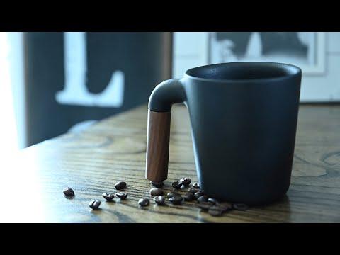 Review: HMM Mugr Handmade Ceramic & Walnut Coffee Cup