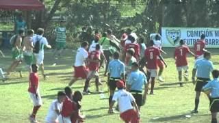 Gresca Valle Vs Antioquia Hexagonal Final De Fútbol Infantil En Barrancabermeja