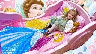 DISNEY PRINCESS TODDLER BED!