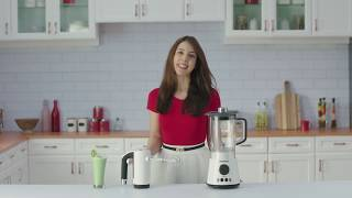 Morphy Richards – Meet the Total Control Table Blender and Hand Mixer