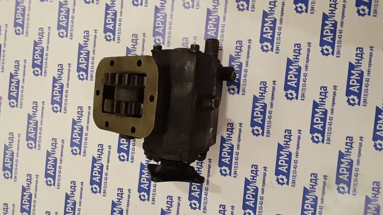 Коробка отбора мощности МП05-420.20.10 - YouTube