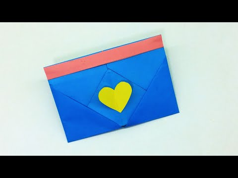How to make Origami Envelope Box - YouTube | 360x480