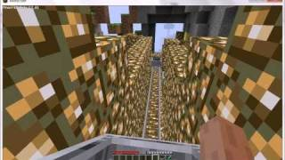 Minecraft Self Moving Train, no engine, no coal, no mod