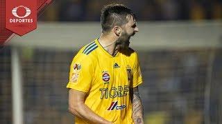 Gol de Gignac | Tigres 1 - 0 León | Clausura 2019 - Final Ida | Televisa Deportes