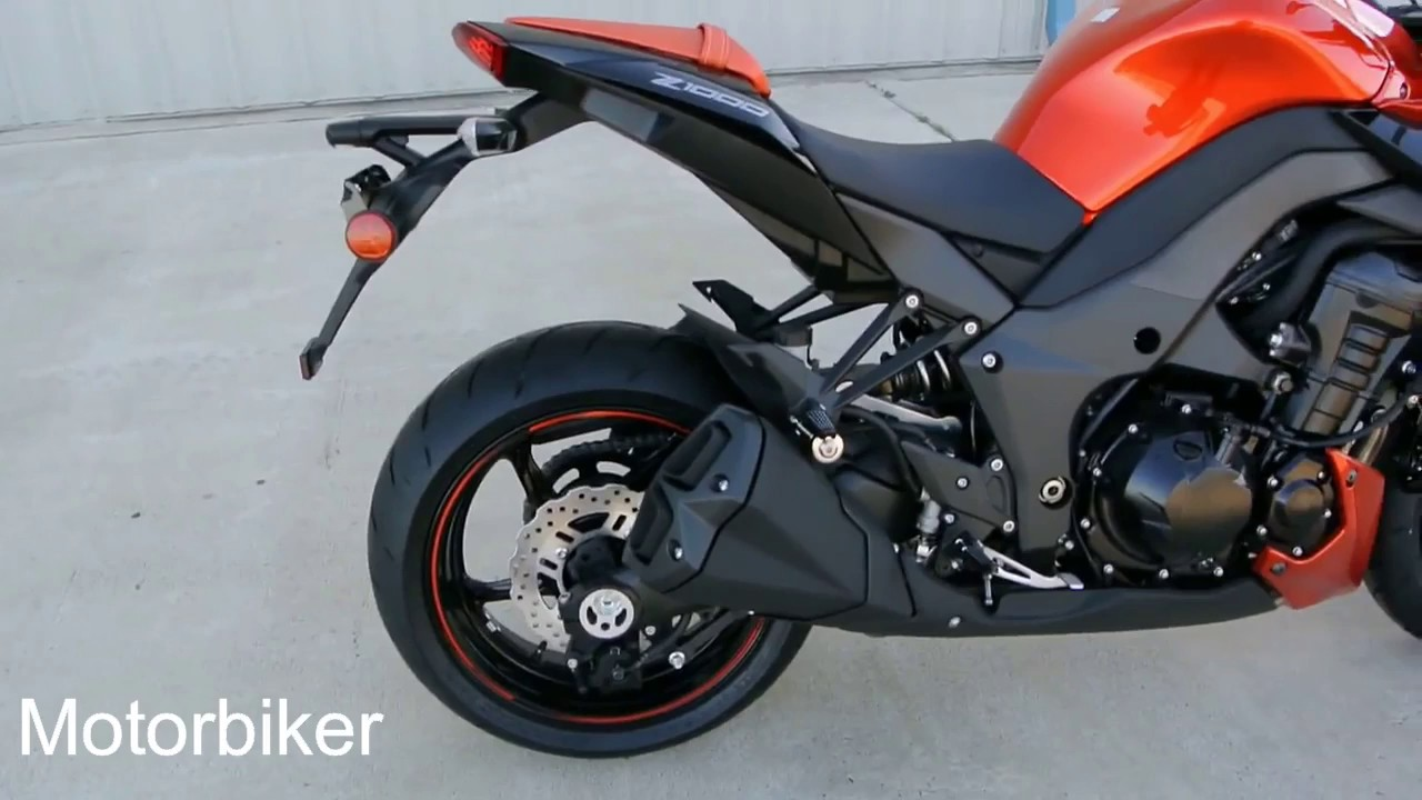 2012 Kawasaki Z1000 Candy Burnt Orange Overview And Review Youtube